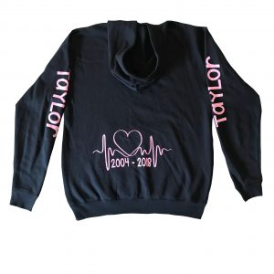 Black Team Taylor jumper PINK