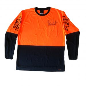Team Taylor Hi-vis Long-sleeve