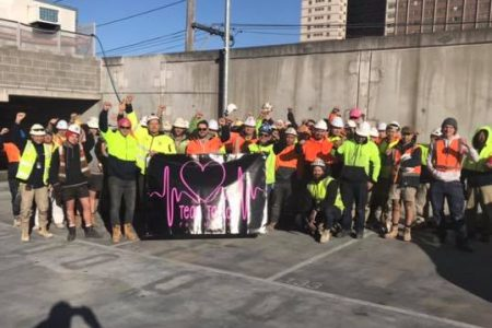 CFMEU Members at Kane's job Richmond raised $1250