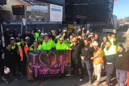 CFMEU Members at ABD in Essendon raised $3650