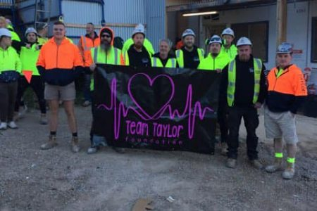 CFMEU Members at Kane's job Poplar Road Parkville raised $4,785