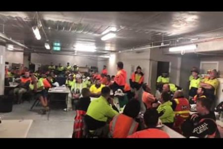 CFMEU Member at Crema job in Kew raised $5,850